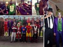 Excellent effort lads...Can you guess the 15 Newcastle United players in fancy dress ahead of their Christmas party?