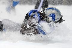 NFL: Philadelphia Eagles beat Lions in blizzard conditions